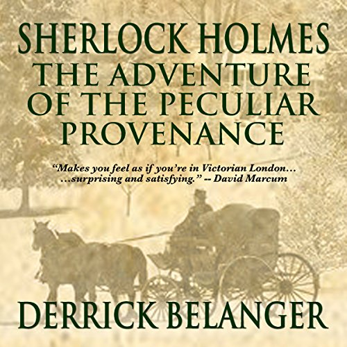 Sherlock Holmes: The Adventure of the Peculiar Provenance Titelbild