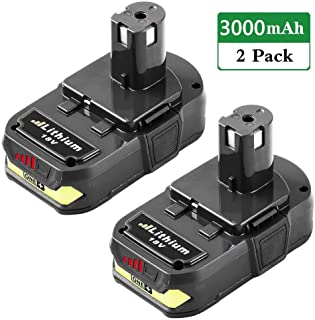 3.0Ah Replacement for Ryobi 18V Battery Lithium P102 P103 P104 P105 P107 P108 P109 P190..