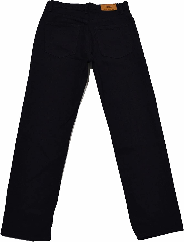 Tommy Hilfiger Mens 2-tone Straight Leg Jeans