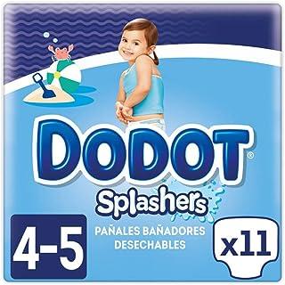comprar comparacion Dodot Splashers Pañales Bañadores Desechables - Paquete de 11 Pañales, Talla 4