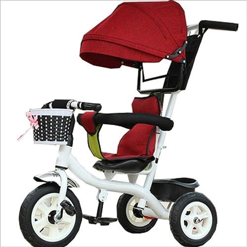 toma Strollers DD Bicicleta de bebé Bicicleta Infantil de 8 Meses Meses Meses en Bicicleta - 6 años, con toldo, neumático de Goma Completo Triciclo Bebe  alta calidad general