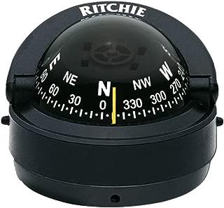 Compass, Surface Mount, 2.75 Dial, Blk.