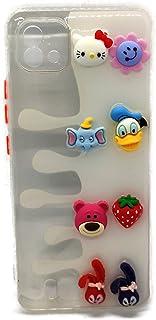 Back Cover Cartoon 3D Toys For Realme C11 2021