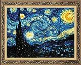 RIOLIS - Kit Punto Croce, Motivo: la Notte Stellata di Van Gogh