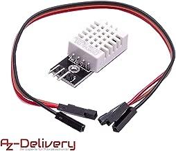 AZDelivery DHT 22 AM2302 Sensor de Temperatura y Humedad con Placa y Cable para Arduino y Raspberry Pi con Ebook incluido