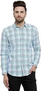 MAFATLAL Men Checkered Casual Longe Shirt