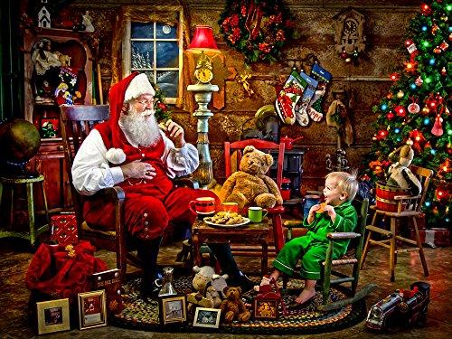 Santas Visit Jigsaw Puzzle 550 Piece