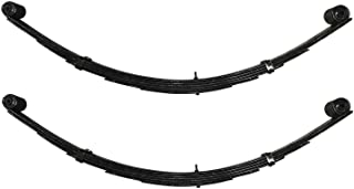 Pro Comp 22415 Pair of Rear Black Powder Coated Leaf Springs for 99-07 Ford F250/F350