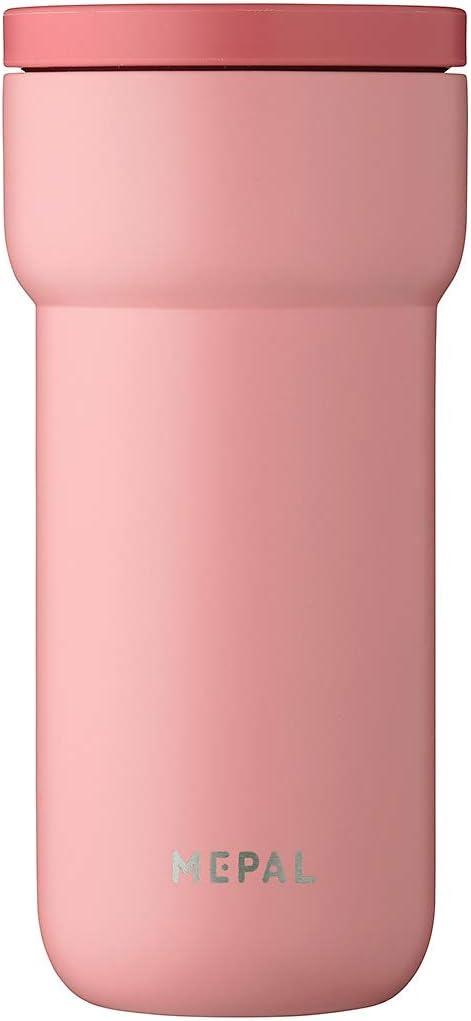 Mepal Ellipse 375ml Nordic Pink - Coffee to Go Thermal Mug - Tea