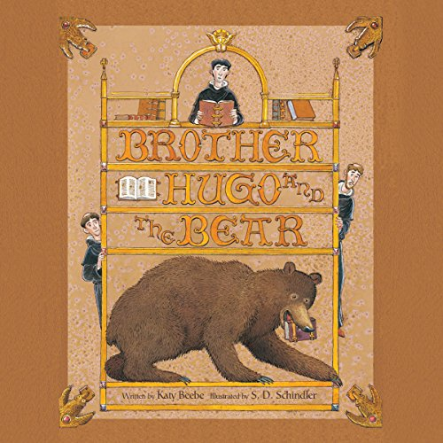 Brother Hugo and the Bear audiobook cover art