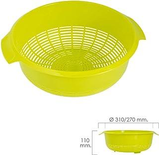 ORYX 5071065 Escurridor/Colador Cocina Ø 27 cm, Verde
