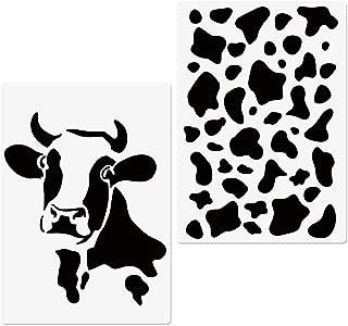 Reusable Stencil Cookie Stencils Cow Print Stencil Airbrush Stencil