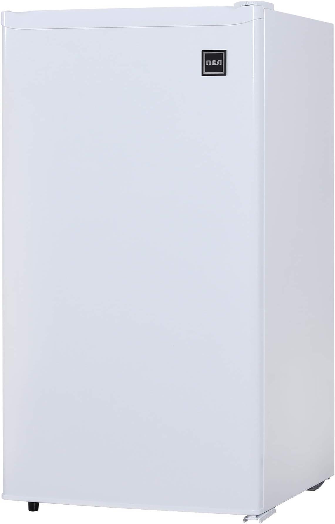 RCA RFR321-FR320/8 IGLOO Mini Refrigerator, 3.2 Cu Ft Fridge, White