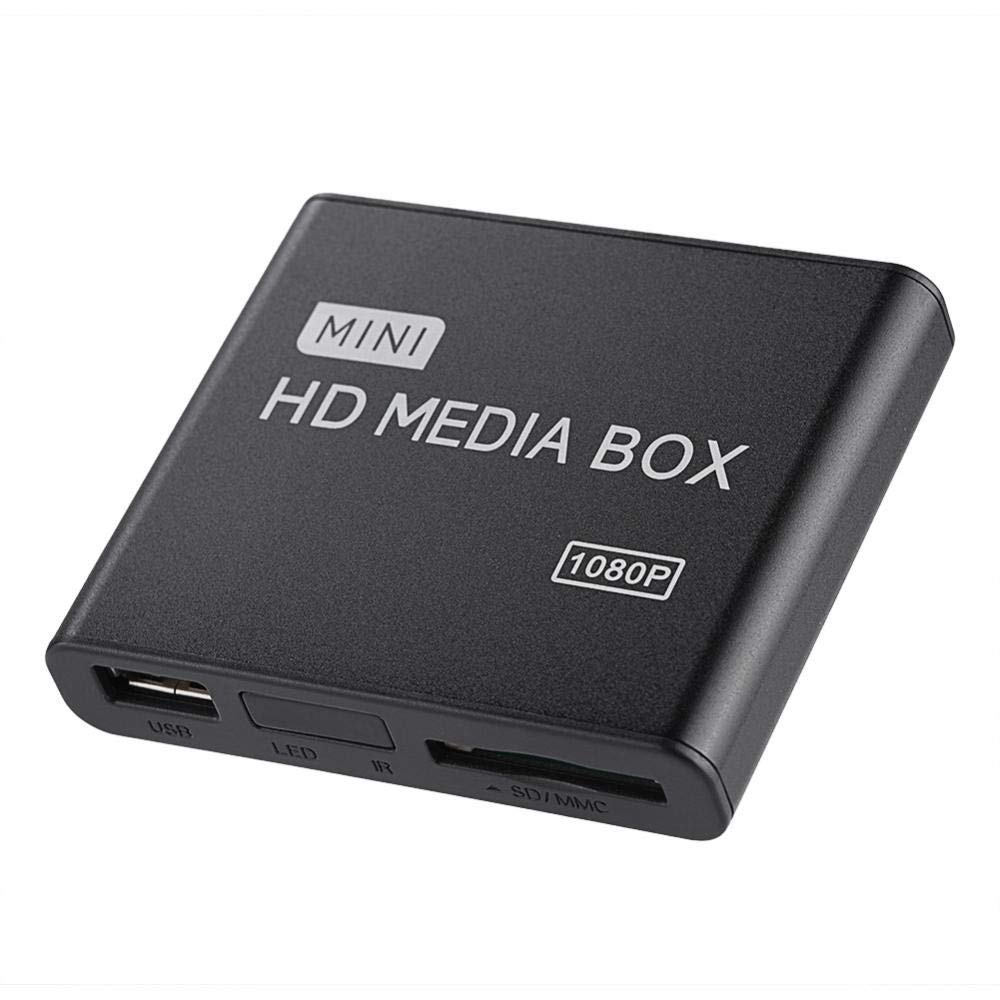 Completo HD HDMI Reproductor Multimedia, Mini 1080p Ultra HD ...