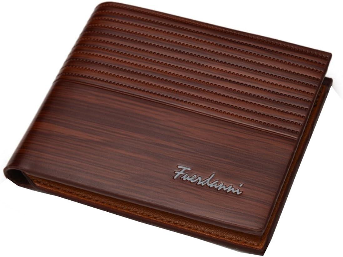 DSANTECH Men's Genuine Leather Wallet Fuerdanni