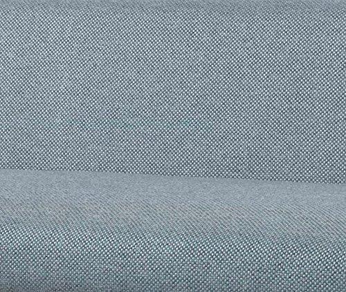 大川家具GARTソファ2人掛けPURI(プリ)ブルー素材布/126cm幅