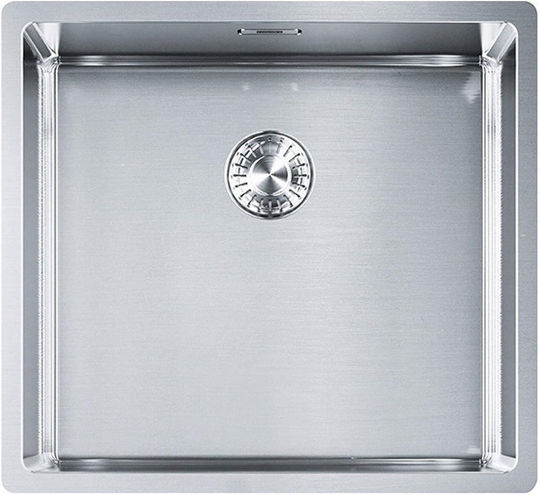 Franke Box BXX 210 110-45 Edelstahl-Spüle glatt Einbaubecken Küchenspüle US 50cm