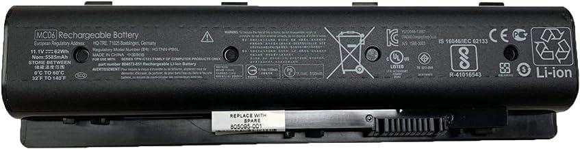 SUNNEAR MC06 MC04 11.1V 62Wh 5585mAh Laptop Battery Replacement for HP Envy 17 15 Envy M7 m7-n109dx m7-n011dx 17-r Series ...