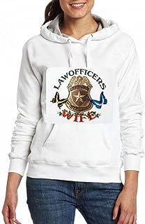 法務官警察官妻 Women Pocket Hoodie Sweater レディーズ トップス パーカー アクティブウェア