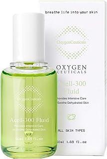 Korean Skin Care K Beauty, OxygenCeuticlas Acell-300 Fluid Face Serum For Dry Skin, Facial Anti Aging, Anti Wrinkle, Korea...