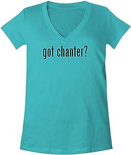 The Town Butler got Chanter? - A Soft & Comfortable Women`s V-Neck T-Shirt