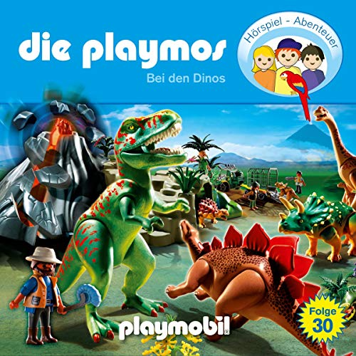 Bei den Dinos audiobook cover art