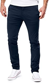 Merish 401 Men's Slim Fit Chino Stretch Designer Trousers