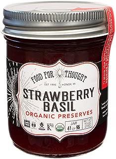 strawberry basil preserves