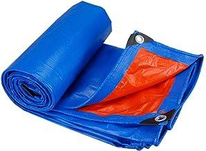 Wang Heavy Duty dekzeil Huis & Tuin Blauwe Tarps Grondplaat Covers Gebruikt voor Camping, Vissen, Dak 185g/m² Kwaliteit Co...