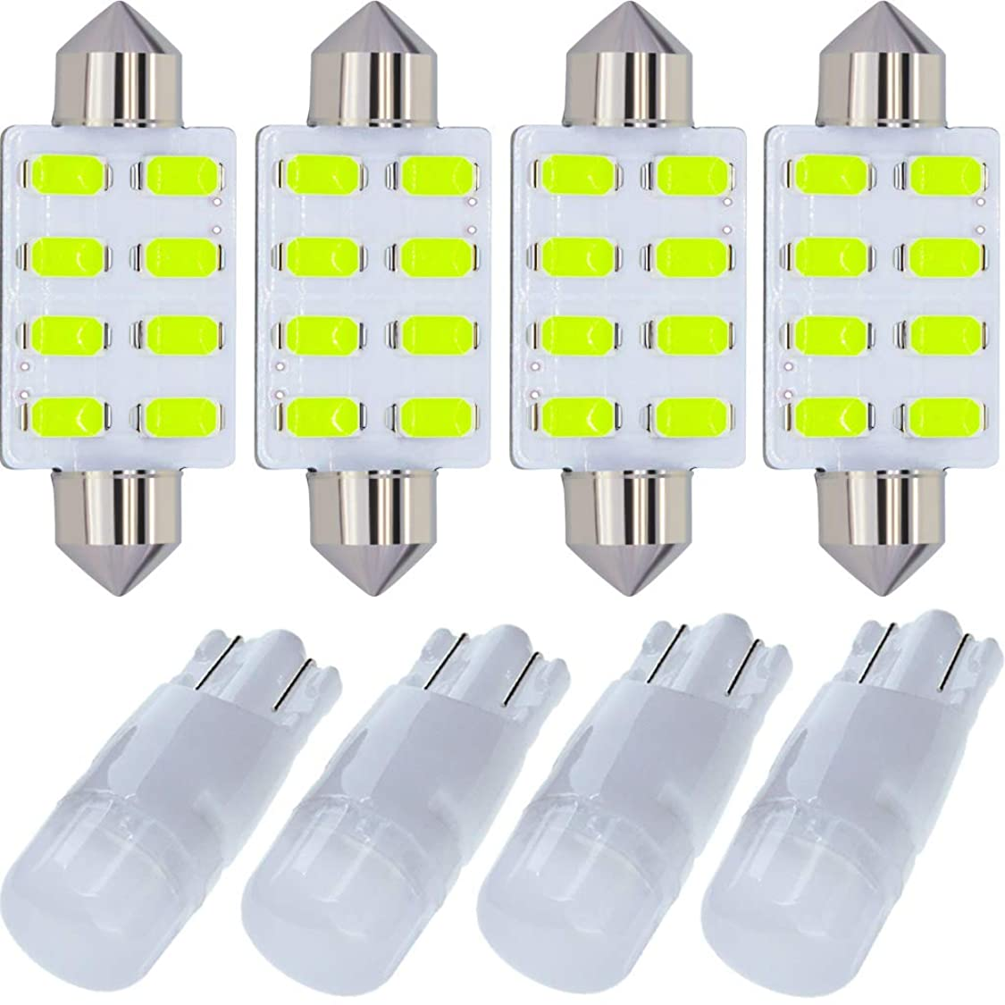LED Kit Compatible for Doge Ram 1500 2500 3500 2002-2016 Charger 2006-2014 Bulb Interior Lights Package Replacement Ice Blue mj52695115785456
