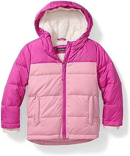 Eddie Bauer Unisex-Baby Toddler Girls' Classic Down Jacket - Colorblock