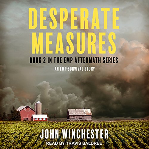 Desperate Measures: An EMP Survival Story audiobook cover art