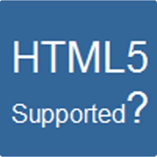 HTML5 Supported?