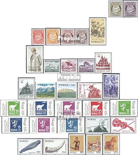 Prophila Collection Noruega Michel.-No..: 758-789 (Completa.edición.) año 1978 completaett 1978 Ibsen, OlUnv, NUnvidUnd u.Un. (Sellos para los coleccionistas)