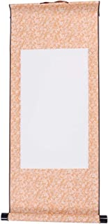 Chinese Xuan Paper Art Wall Scrolls for Sumie and Calligraphy - Yellow