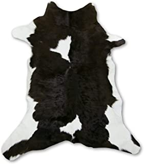 Zerimar Alfombra Piel de Vaca Becerro Natural | Medidas: