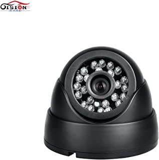 GISION AHD Vehicle Camera (1.0MP 1.3MP 2.0MP) Used for Bus Car Truck Lorry Backup Reversing Rear View Camera with IR Cut LED Night Vision (Edition : 1.3MP, Interface : Aviation-3.6MM)