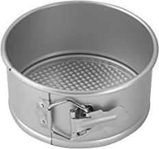 WINCO AASP-063 Springform Pan with Detachable Bottom, 6-Inch, Anodized Aluminum (2)