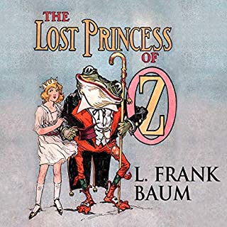 The Lost Princess of Oz cover art
