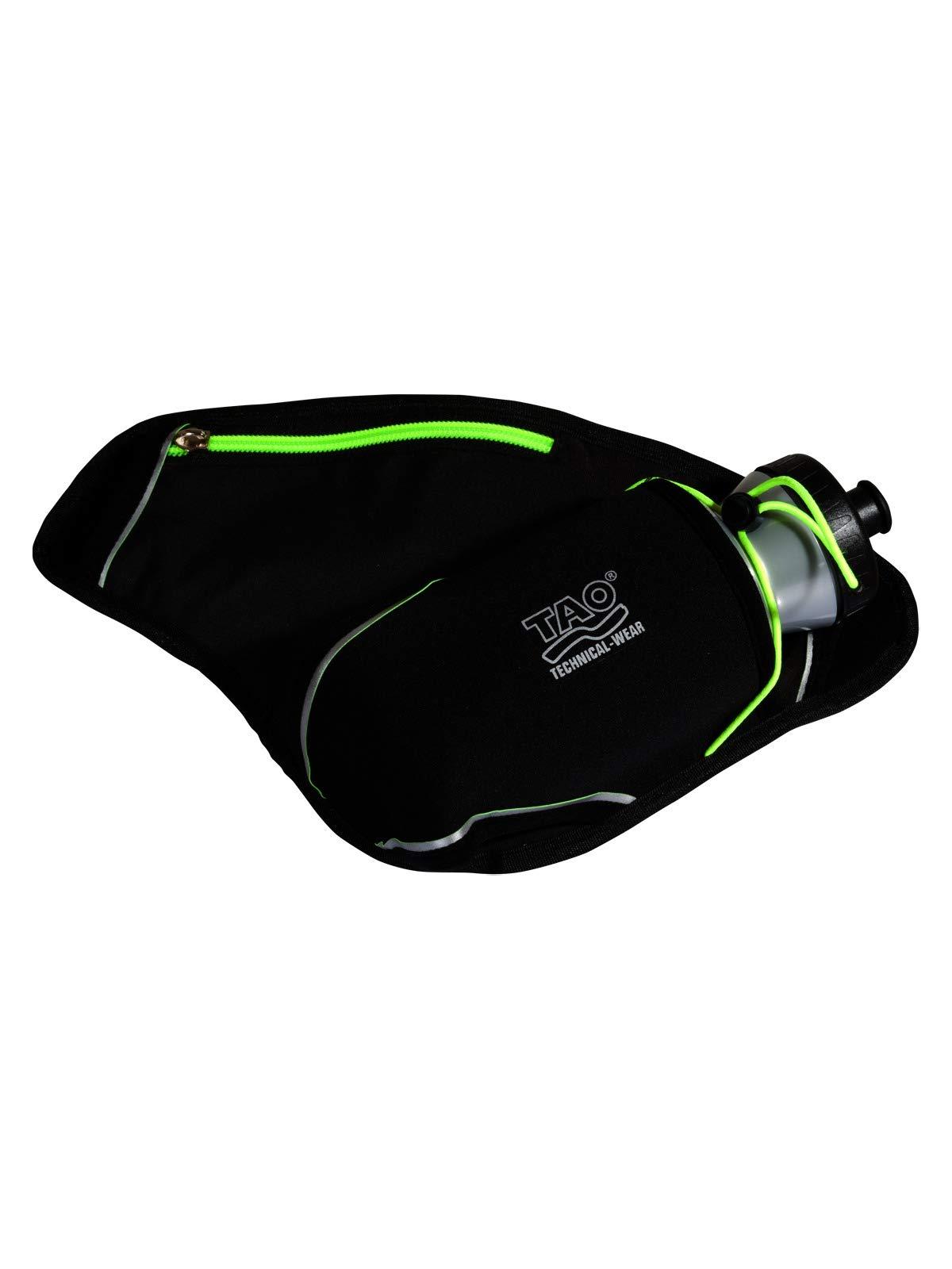 TAO Sportswear Trinkflaschen-Tasche inkl. Flasche Big Bottle Holder Black/Sirio