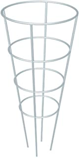 Wisechoice Galvanized Plant Support Heave Duty Tomato Cage Round in Shape, 16 Inch W X 54 Inch H