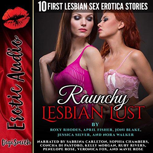 Raunchy Lesbian Lust audiobook cover art