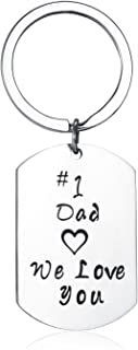 Udobuy 2 Pcs Super Cute Father Daughter Little Heart Joint Necklace Set Daddys & Daughter Best Gifts