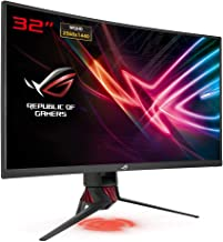 "Asus XG32VQ 31.5"" 2K Ultra HD LED Curved Black Computer Monitor"