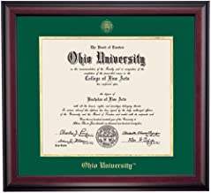 ohio university diploma frame