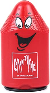 Caran D'ache Double Hole Pencil Sharpener In Red Plastic Caran D'ache (476.070)