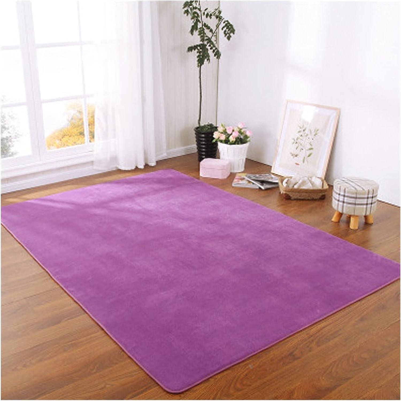 JJYGYTG Mail order Carpet Pure Color Mail order cheap Bedroom Tatami Bedside C