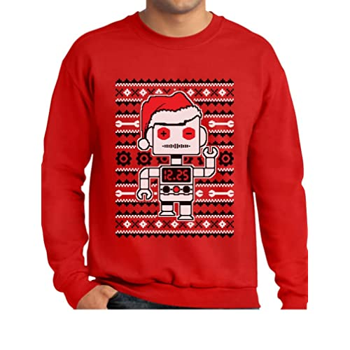 Custom Party Shop Baby Boys Novelty Robot Hoodie Pullover