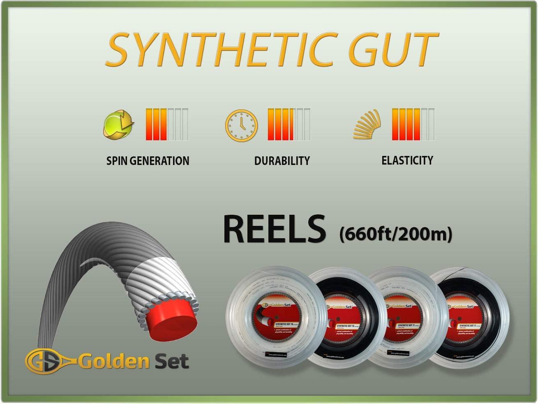 Golden Set Synthetic Gut Tennis String