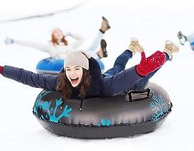 Lingge Snow Tube Opblaasbare sneeuwslang van 119 cm, voor kinderen en volwassenen, opblaasbare high-performance sneeuwslan...